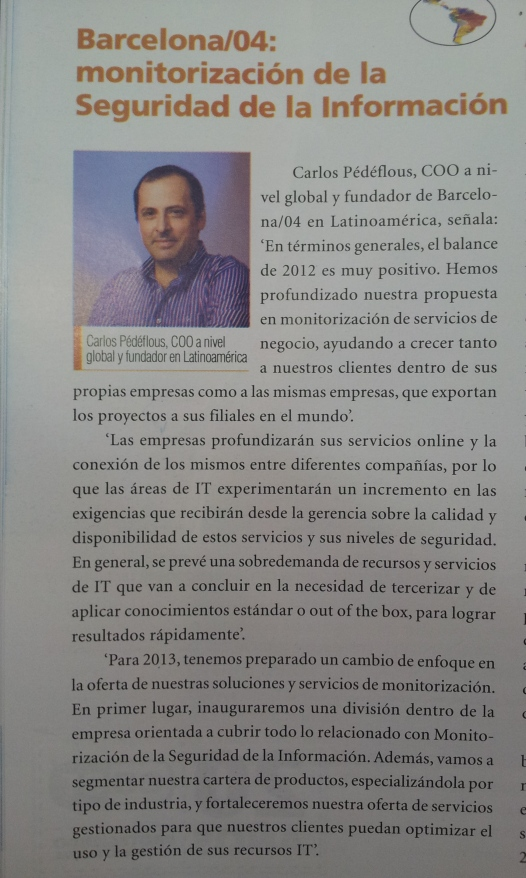 201301 B04- Revista Prensario